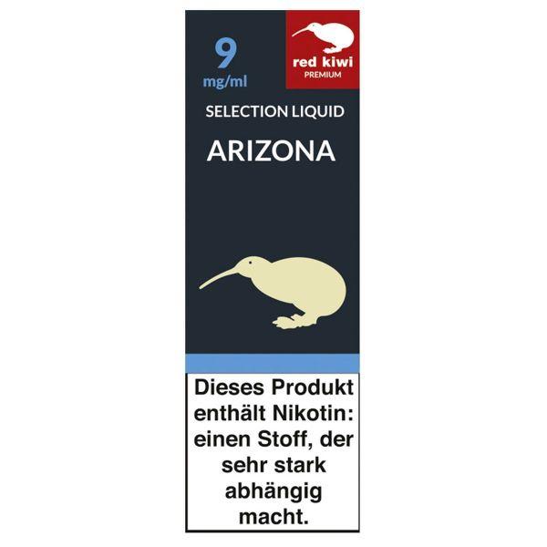 Red Kiwi eLiquid Selection Arizona 9mg Nikotin/ml (10 ml)
