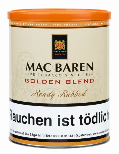 Golden Blend Pfeifentabak Mac Baren (Dose á 250 gr.)