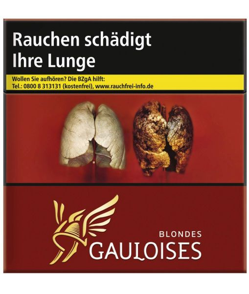 Gauloises Zigaretten Blondes Rot 15€ (6x50er)