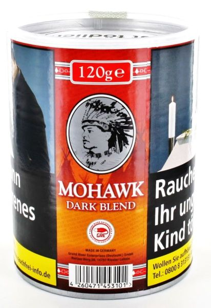 Mohawk Zigarettentabak Dark Blend (Dose á 120 gr.)