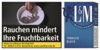 L&M Zigarettentabak Tobacco Block Blue Label (Schachtel á 42 gr.)
