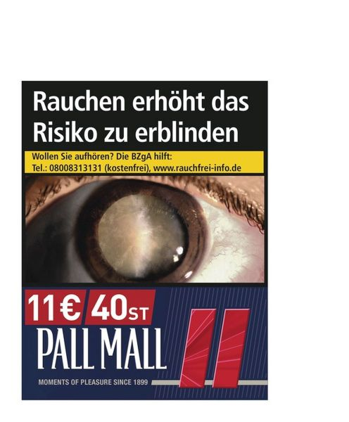 Pall Mall Red 11€ (Super)