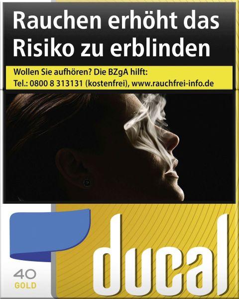 Ducal Zigaretten Gold Cigarettes (5x40er)