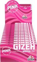 Gizeh Pure King Size Slim Zigarettenpapier + Tips (25 x 34 Stück)