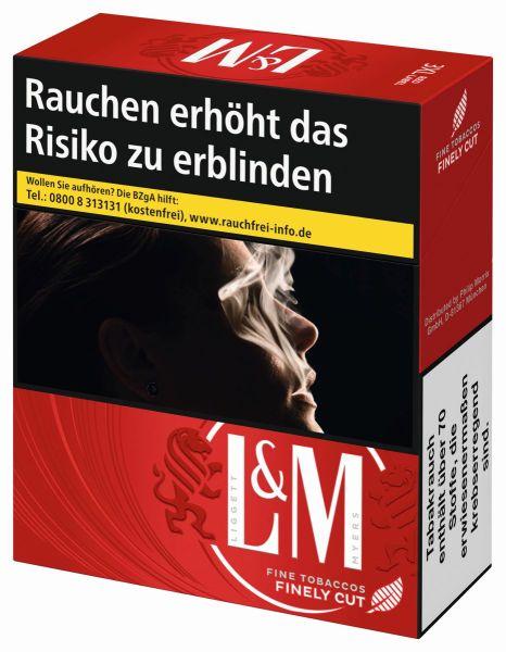 L&M Zigaretten Red Label (8x34er)