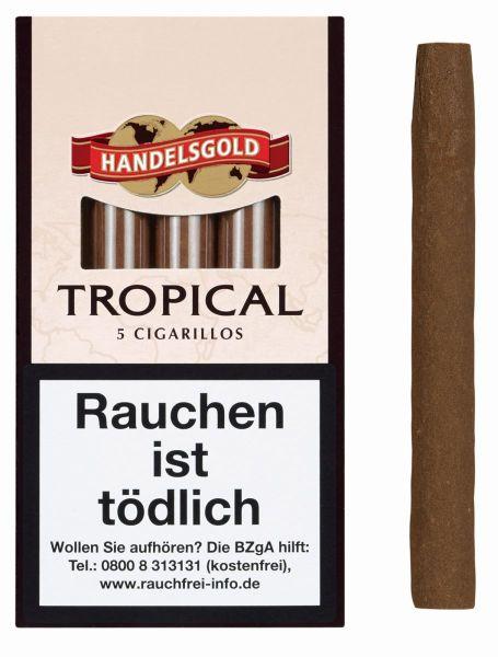 Handelsgold Zigarillos 190 Tropical (Schachtel á 5 Stück)