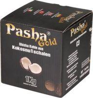 Pasha Shisha Hookah Kohle Gold 1kg (Packung á 1 Kg)