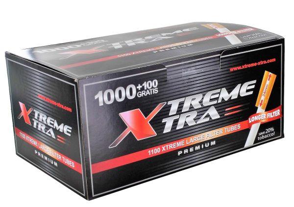 Xtrem Xtra Zigarettenhülsen (Schachtel á 1100 Stück)