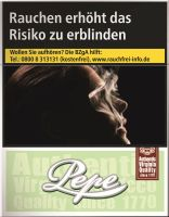 Pepe Zigaretten Bright (Easy) Green Big Pack (8x24er)