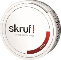 Skruf Xtra White Chewing Bags 20g