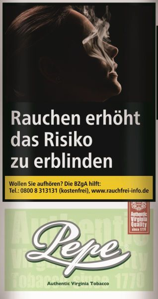 Pepe Zigarettentabak Bright Green (5x30 gr.) 4,80 € | 24,00 €