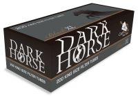 Dark Horse Black XL Carbon Zigarettenhülsen Filterlänge 24mm (5 x 200 Stück)