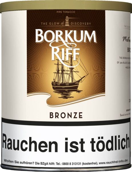 Borkum Riff Pfeifentabak Bronze (Dose á 200 gr.)