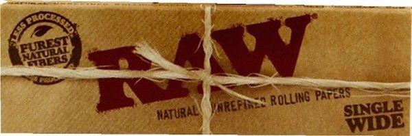 RAW Classic Regular Single Wide Kurzformat Papier (50 x 50 Stück)