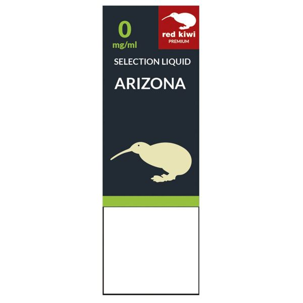 Red Kiwi eLiquid Selection Arizona 0mg Nikotin/ml (10 ml)