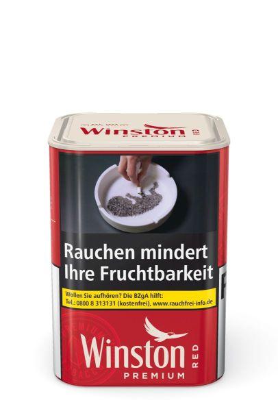 Winston Zigarettentabak Premium Red Tin-M (Dose á 100 gr.)