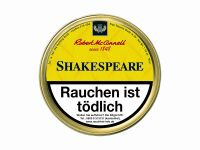 Robert McConnell Pfeifentabak Shakespeare (Dose á 50 gr.)