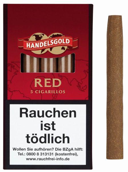 Handelsgold Zigarillos 213 Red (Schachtel á 5 Stück)