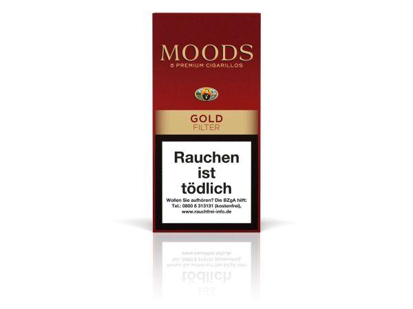 Moods Zigarillos Gold Filter (Schachtel á 5 Stück)