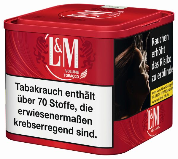 L&M Volumentabak Volume Tobacco Red (Dose á 45 gr.)