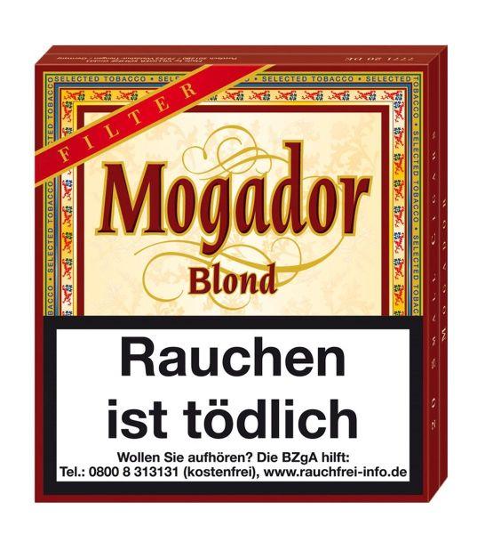 Villiger Zigarillos Mogador Blond Filter (Schachtel á 20 Stück)