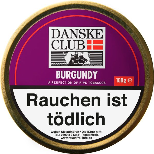 Danske Club Pfeifentabak Burgundy (Dose á 100 gr.)