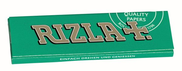Rizla grün Papier (50 x 50 Stück)