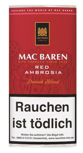 Mac Baren Pfeifentabak Red Ambrosia (Pouch á 50 gr.)
