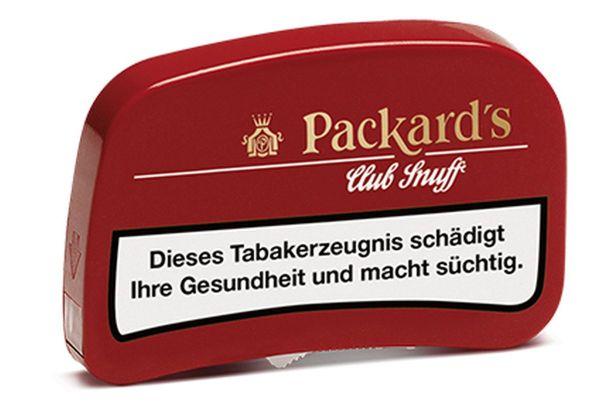 Packards Schnupftabak Club Snuff (10 x 7 gr.)
