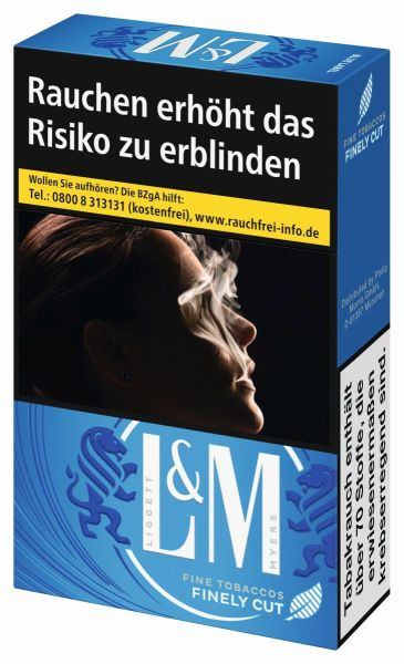 L&M Zigaretten Blue Label 2XL-Box (8x26er)