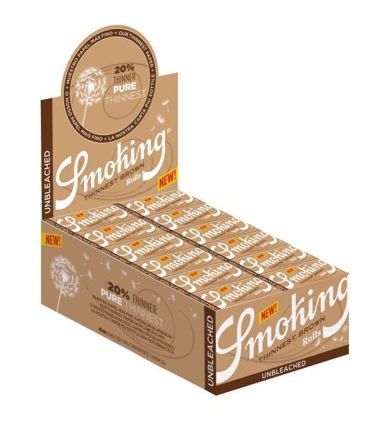 Smoking Thinnest Brown Rolls (24 x 1 Stück)