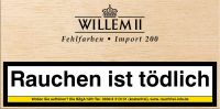 Scandinavian Zigarillos Willem II Fehlfarben Import 200 Sumatra (Packung á 100 Stück)