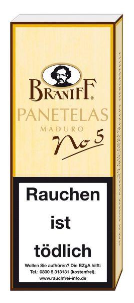 Villiger Zigarillos Braniff No. 5 Panetelas (Schachtel á 10 Stück)