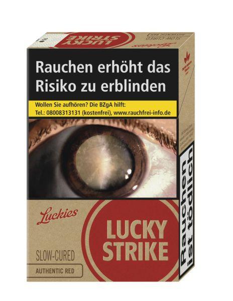 Lucky Strike Zigaretten Authentic Red 7,20€ (XL) (10x20er)