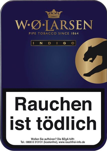 W.O. Larsen Pfeifentabak Larsen Indigo (Dose á 100 gr.)