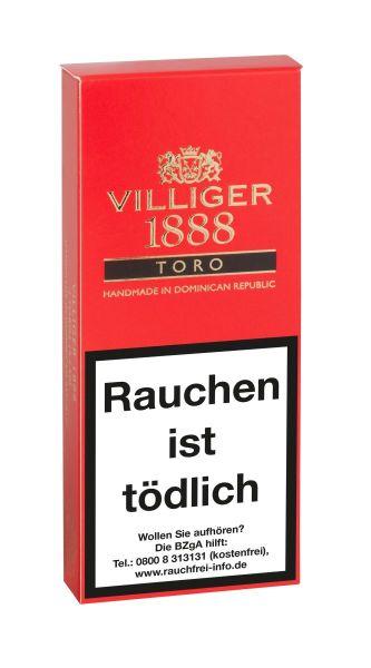 Villiger Zigarren 1888 Toro (Packung á 3 Stück)