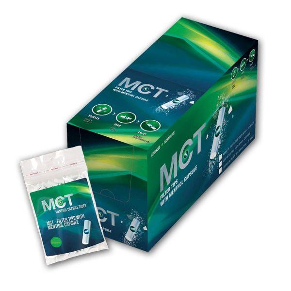MCT Menthol Capsule Filter Tips Regular 8mm (12 x 100 Stück)