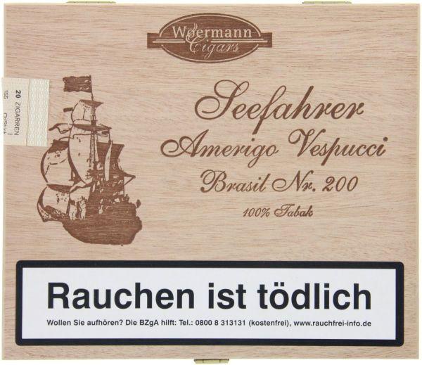 Diverse Zigarren Seefahrer Amerigo Vespucci Brasil No. 200 (Schachtel á 20 Stück)