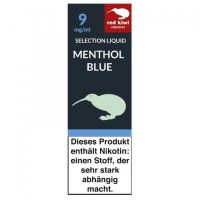 Red Kiwi eLiquid Selection Menthol Blue 9mg Nikotin/ml (10 ml)