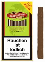Handelsgold Zigarillos 205 Green (Schachtel á 5 Stück)