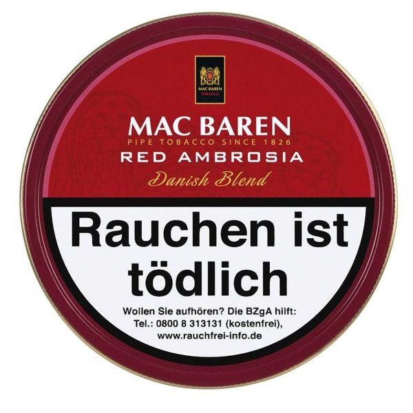 Mac Baren Pfeifentabak Red Ambrosia (Dose á 100 gr.)