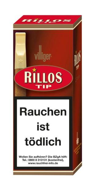 Villiger Zigarillos Rillos TIP (Schachtel á 25 Stück)