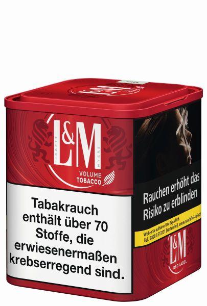 L&M Volumentabak Volume Tobacco Red (Dose á 105 gr.)