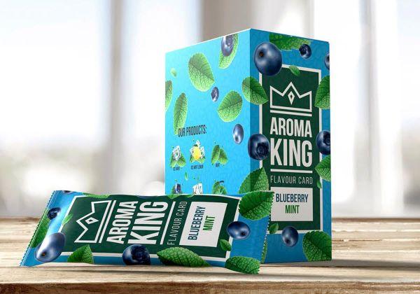 Aroma King Aroma Card Blueberry Mint (25 x 1 Stück)