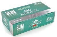 Korona De Luxe Slim Menthol Filterhülsen