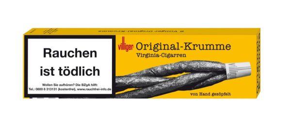 Villiger Zigarren Original-Krumme (Schachtel á 6 Stück)