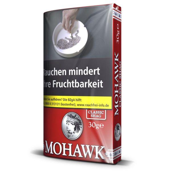 Mohawk Zigarettentabak Classic Shag (10x30 gr.) 4,40 €   44,00 €