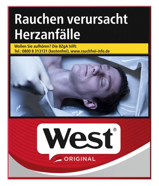 West Zigaretten Original (6x34er)