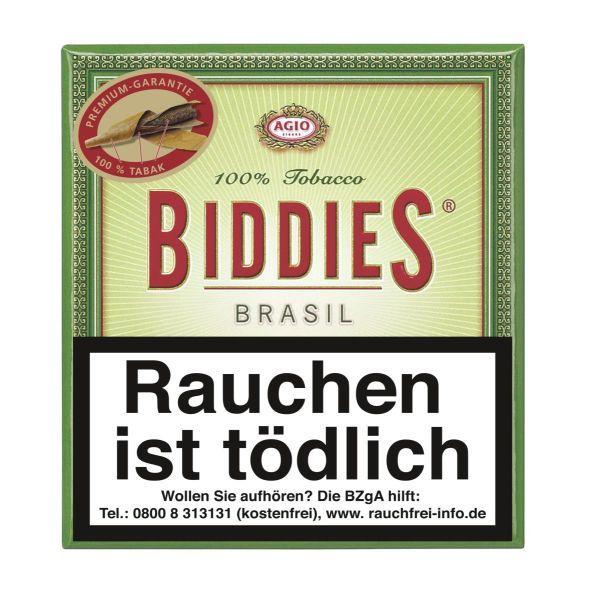Biddies Zigarillos Brasil 100% (Schachtel á 20 Stück)