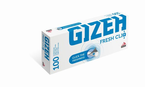 Gizeh Fresh CliQ Zigarettenhülsen (5 x 100 Stück)